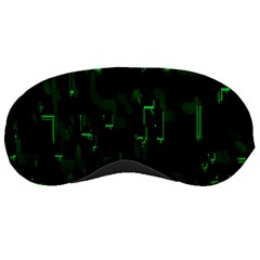 Abstract Art Background Green Sleeping Masks