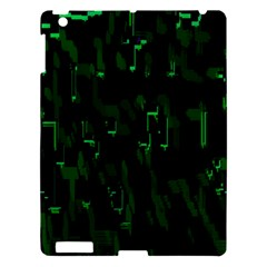 Abstract Art Background Green Apple Ipad 3/4 Hardshell Case