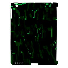 Abstract Art Background Green Apple Ipad 3/4 Hardshell Case (compatible With Smart Cover)
