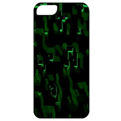 Abstract Art Background Green Apple Iphone 5 Classic Hardshell Case