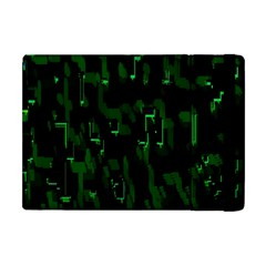 Abstract Art Background Green Apple Ipad Mini Flip Case