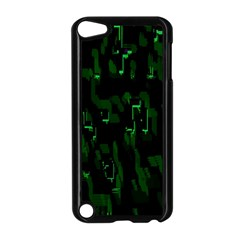 Abstract Art Background Green Apple Ipod Touch 5 Case (black)