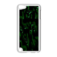 Abstract Art Background Green Apple Ipod Touch 5 Case (white)