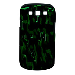 Abstract Art Background Green Samsung Galaxy S Iii Classic Hardshell Case (pc+silicone)