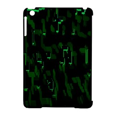 Abstract Art Background Green Apple Ipad Mini Hardshell Case (compatible With Smart Cover)