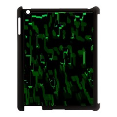 Abstract Art Background Green Apple Ipad 3/4 Case (black)