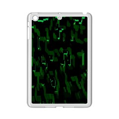 Abstract Art Background Green Ipad Mini 2 Enamel Coated Cases