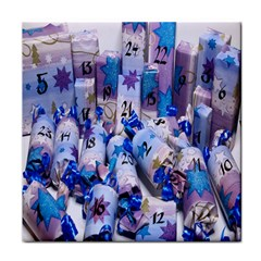 Advent Calendar Gifts Tile Coasters