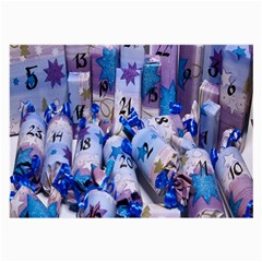 Advent Calendar Gifts Large Glasses Cloth by Nexatart