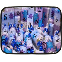 Advent Calendar Gifts Double Sided Fleece Blanket (mini)
