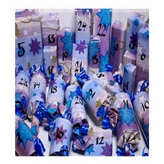 Advent Calendar Gifts Shower Curtain 66  X 72  (large)