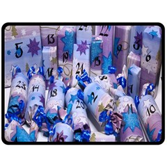 Advent Calendar Gifts Fleece Blanket (large)
