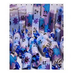 Advent Calendar Gifts Shower Curtain 60  X 72  (medium)