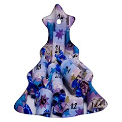 Advent Calendar Gifts Christmas Tree Ornament (two Sides)