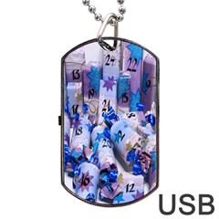 Advent Calendar Gifts Dog Tag Usb Flash (two Sides)