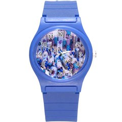 Advent Calendar Gifts Round Plastic Sport Watch (s)