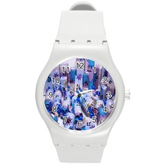 Advent Calendar Gifts Round Plastic Sport Watch (m)