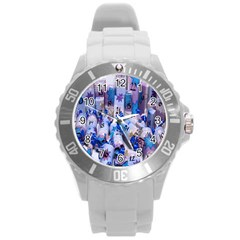 Advent Calendar Gifts Round Plastic Sport Watch (l)