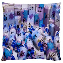 Advent Calendar Gifts Large Cushion Case (one Side)