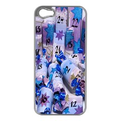 Advent Calendar Gifts Apple Iphone 5 Case (silver)