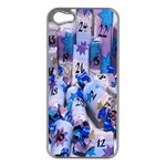 Advent Calendar Gifts Apple iPhone 5 Case (Silver) Front