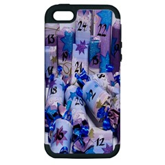 Advent Calendar Gifts Apple Iphone 5 Hardshell Case (pc+silicone)