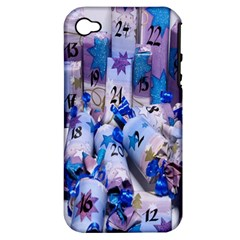 Advent Calendar Gifts Apple Iphone 4/4s Hardshell Case (pc+silicone)