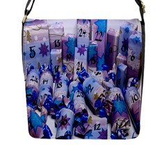 Advent Calendar Gifts Flap Messenger Bag (l)  by Nexatart
