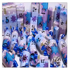 Advent Calendar Gifts Large Satin Scarf (square)
