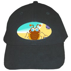 Animal Nature Cartoon Bug Insect Black Cap
