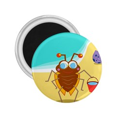 Animal Nature Cartoon Bug Insect 2 25  Magnets