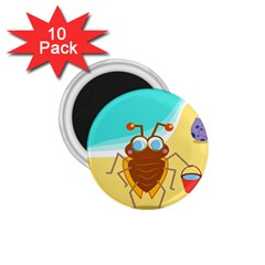 Animal Nature Cartoon Bug Insect 1 75  Magnets (10 Pack)