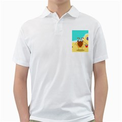 Animal Nature Cartoon Bug Insect Golf Shirts