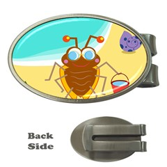 Animal Nature Cartoon Bug Insect Money Clips (oval)