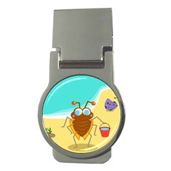 Animal Nature Cartoon Bug Insect Money Clips (round)