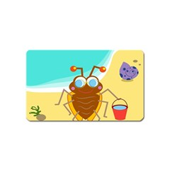 Animal Nature Cartoon Bug Insect Magnet (name Card)