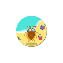 Animal Nature Cartoon Bug Insect Golf Ball Marker
