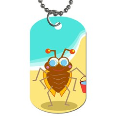 Animal Nature Cartoon Bug Insect Dog Tag (two Sides)