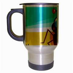 Animal Nature Cartoon Bug Insect Travel Mug (silver Gray)