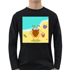 Animal Nature Cartoon Bug Insect Long Sleeve Dark T Shirts