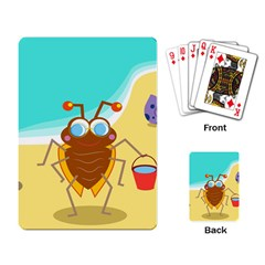 Animal Nature Cartoon Bug Insect Playing Card