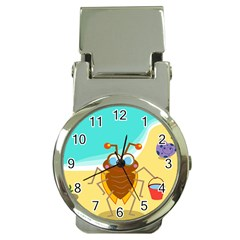 Animal Nature Cartoon Bug Insect Money Clip Watches