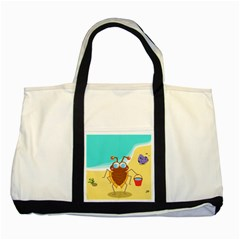 Animal Nature Cartoon Bug Insect Two Tone Tote Bag