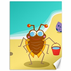 Animal Nature Cartoon Bug Insect Canvas 36  X 48
