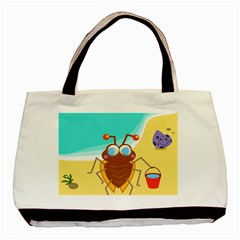 Animal Nature Cartoon Bug Insect Basic Tote Bag (two Sides)