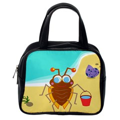 Animal Nature Cartoon Bug Insect Classic Handbags (one Side)