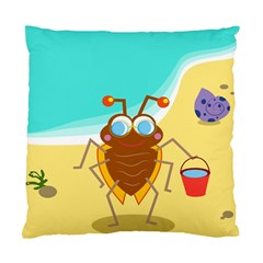 Animal Nature Cartoon Bug Insect Standard Cushion Case (one Side)