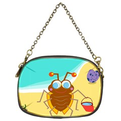 Animal Nature Cartoon Bug Insect Chain Purses (two Sides)