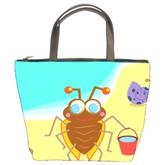 Animal Nature Cartoon Bug Insect Bucket Bags
