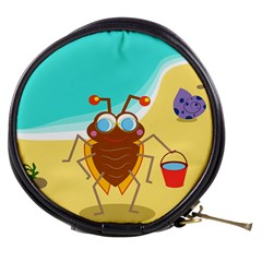 Animal Nature Cartoon Bug Insect Mini Makeup Bags
